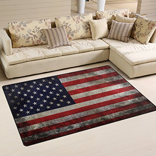 vintage american usa flag area