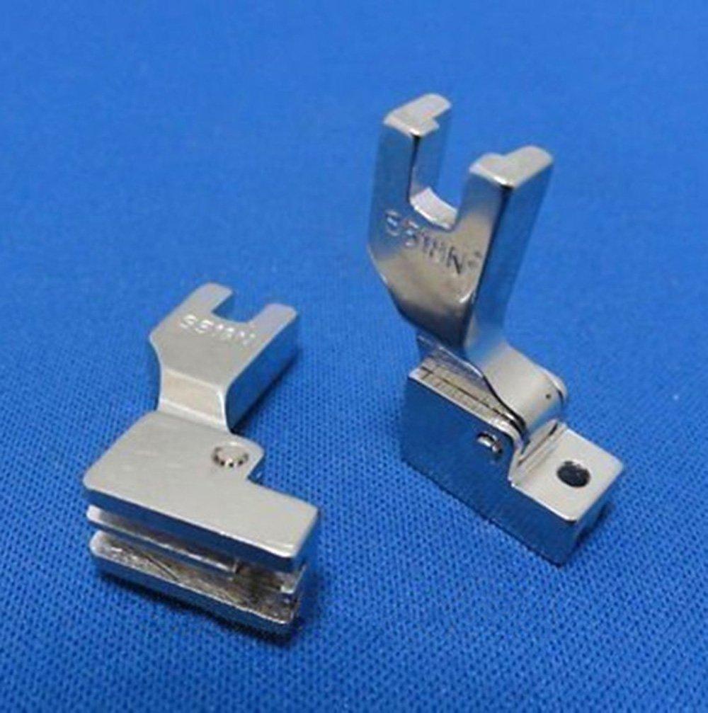 Pie prensatelas para coser cremalleras invisibles No. S518 para máquinas de Coser industriales: Amazon.es: Hogar
