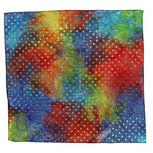 (CTM Multi Polka-Dot Batik Bandana, Multi-Color)