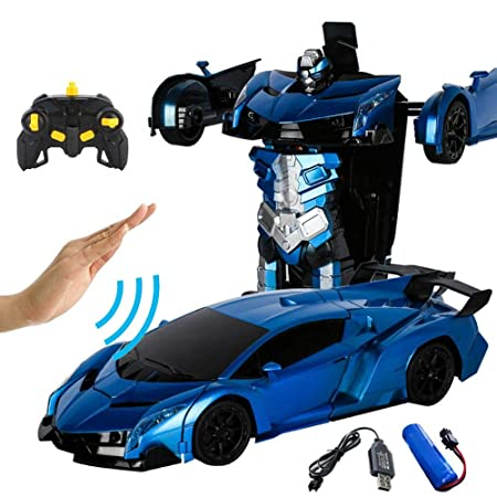 Tawcal Transform RC Car Robot,360 °Rotating Toys ...