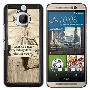 Stuss Case / Funda Carcasa protectora - Sépia Mother Love Inspiring - HTC One M9Plus M9+ M9 Plus