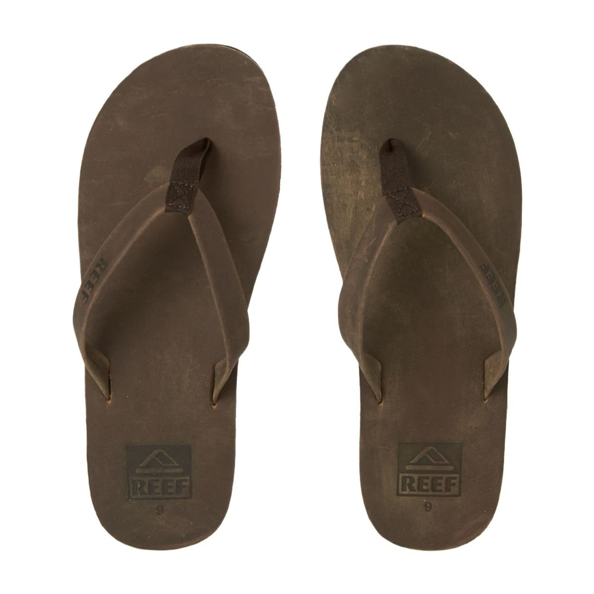 4f72b1e1829b Reef Mens Skinny Leather Thong Toe Post Bronze Surfer Flip Flops Sandals - Bronze  Leather - 12  Amazon.co.uk  Shoes   Bags