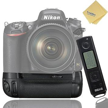 Meike MK-DR750 Battery Grip Holder for Nikon D750: Amazon co
