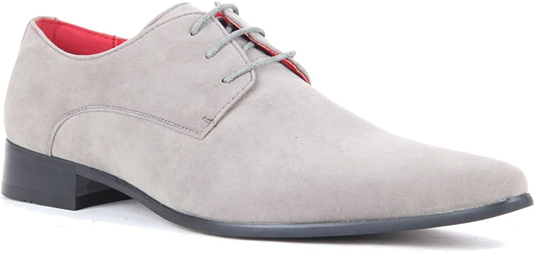 Pointed Toe Derby Shoes. Lace up