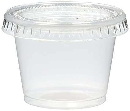 Amazoncom Reditainer Plastic Disposable Portion Cups The