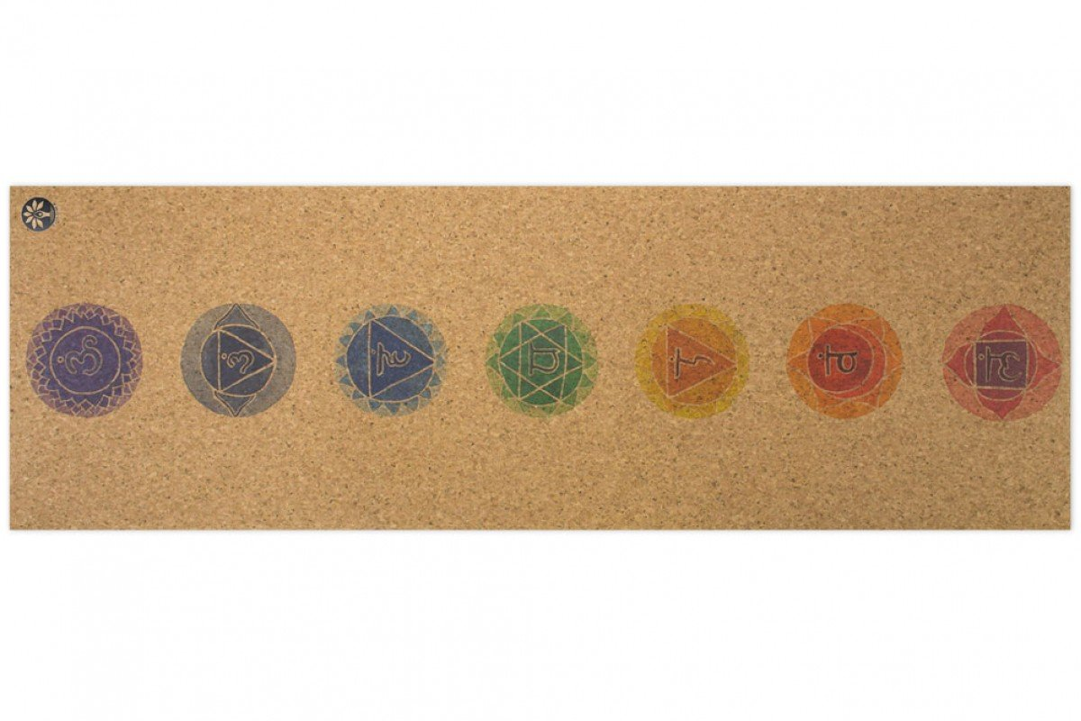 Yoloha Artist Collection Nomad Cork Yoga Mat - Chakra by Yoloha Yoga