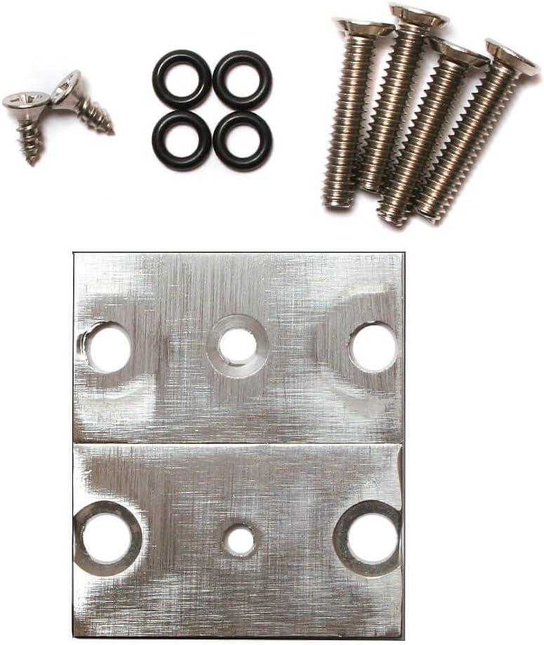 Synthrotek 1U Eurorack Case Brackets with 84HP Rails 3mm Threaded Nut Strips