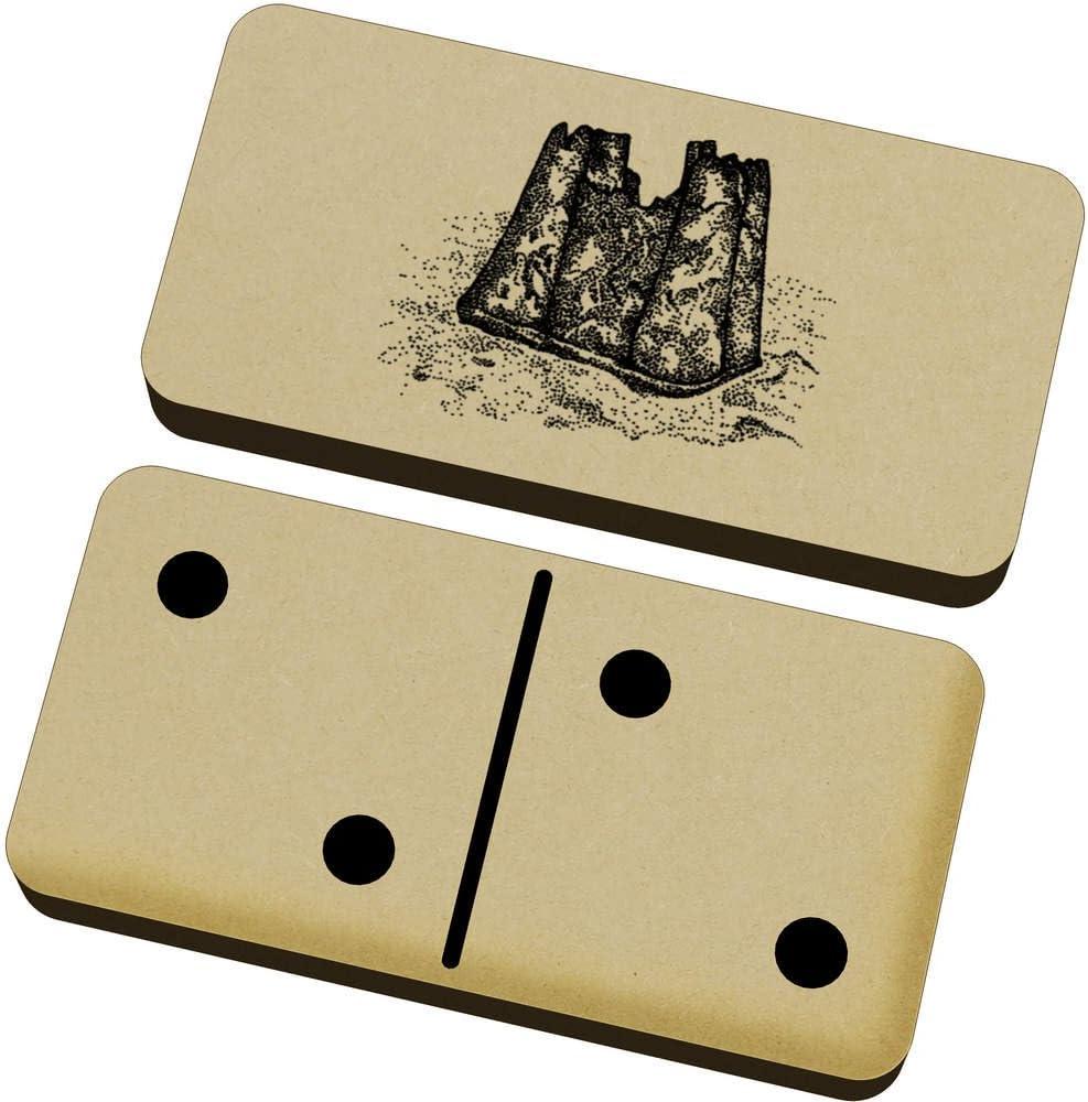 Castillo de Arena Domino Juego y Caja (DM00009651): Amazon.es: Juguetes y juegos