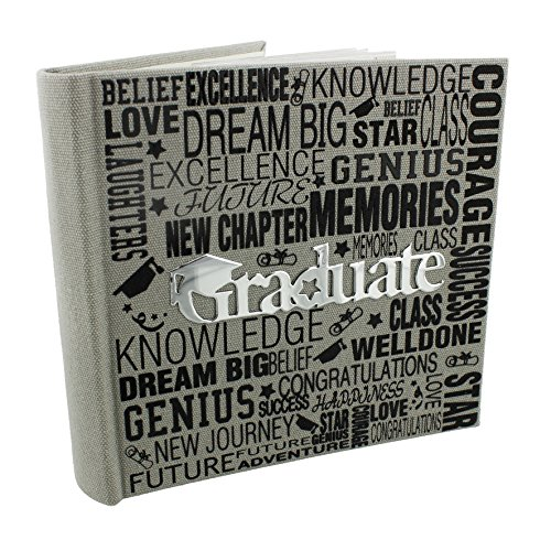 Oaktree Gifts Graduation Photo Album 25 Pages 4 x 6