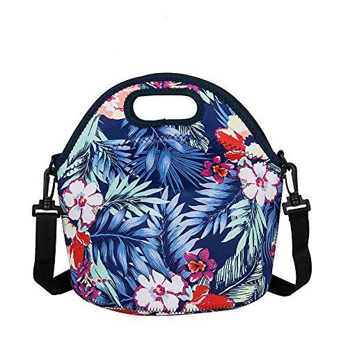 Yipinu Lunch Bags For Women Insulated Neoprene Cool Bag
