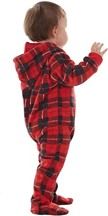 Microfleece Non-Footed One Piece Sleepwear for Adults Boys Girls Babies Dogs KWESOR Family Christmas Onesies Pajamas Sets