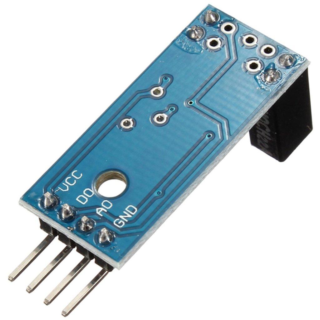 Amazon.com: daoki 5 Pcs Tipo de ranura IR Optocoupler Sensor ...