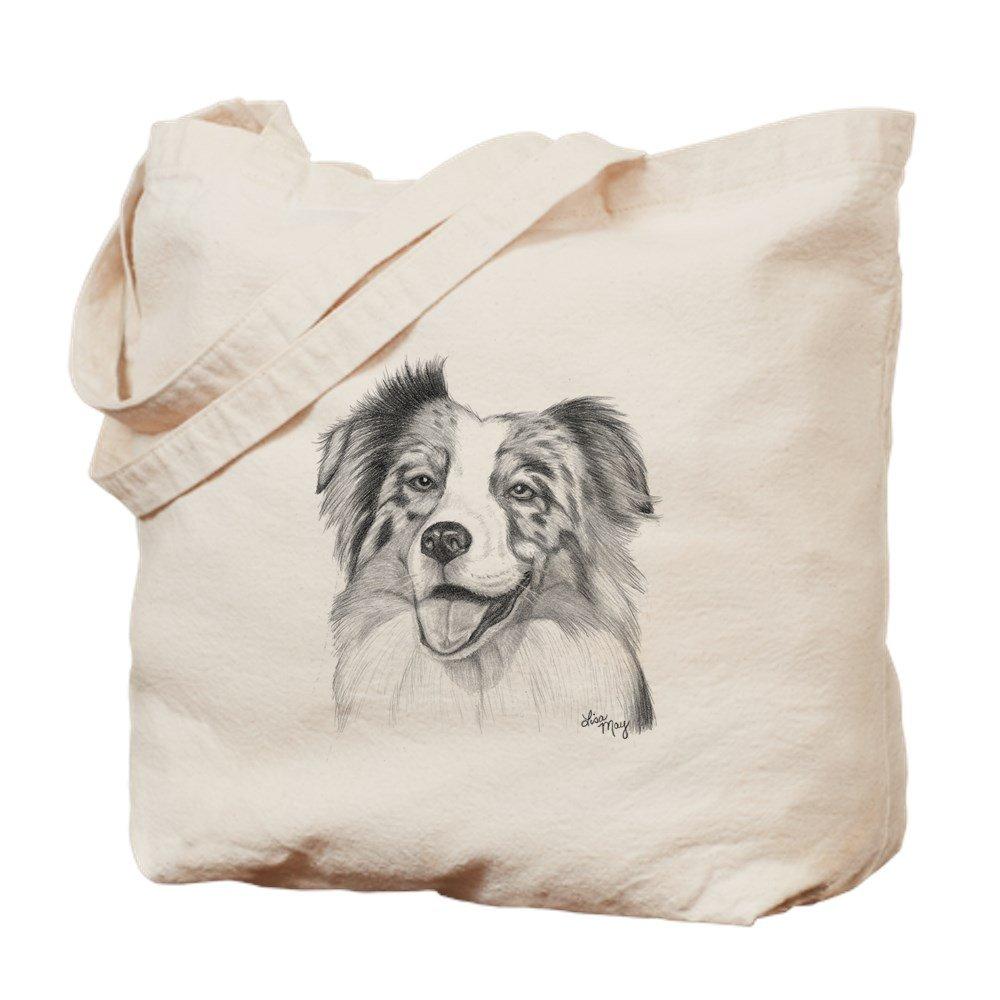 CafePress – Australian Shepherd – ナチュラルキャンバストートバッグ、布ショッピングバッグ B01JNI5YKA