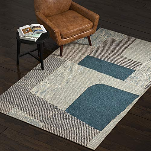 Amazon Brand Rivet Modern Geometric Area Rug