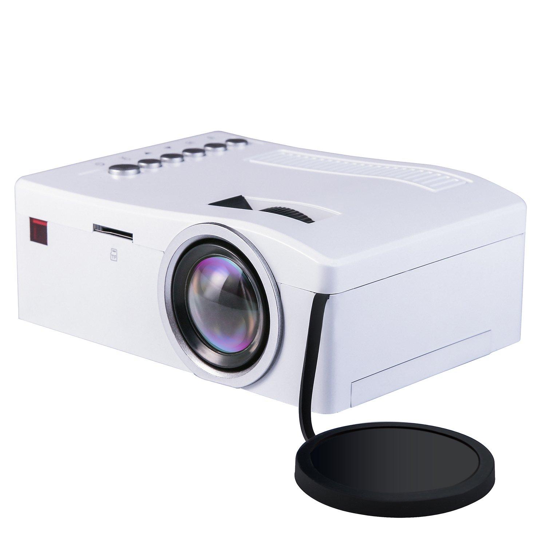 Mini Proyector, Deeplee LED LCD Proyector Cine en casa Teatro con ...