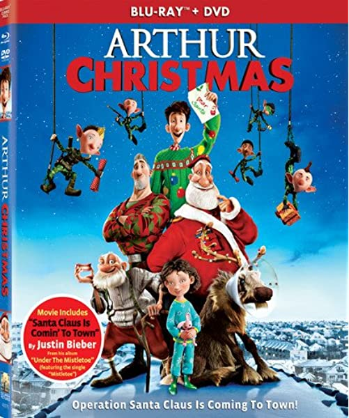 Amazon Com Arthur Christmas Two Discs Blu Ray Dvd Ultraviolet Digital Copy Sarah Smith Peter Lord David Sproxton Carla Shelley Steve Pegram Aardman Animations Columbia Pictures Sony Pictures Animation Inc Movies