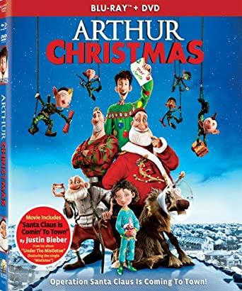 arthur christmas two discs blu ray dvd ultraviolet digital copy - Amazon Prime Christmas Movies