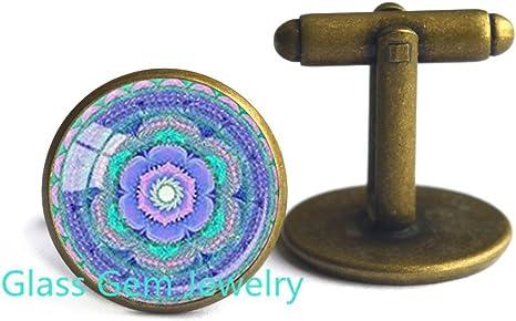 Buddha face cufflinks Buddhist cufflinks, Yoga Meditation cufflinks Spiritual Yoga cufflinks gift