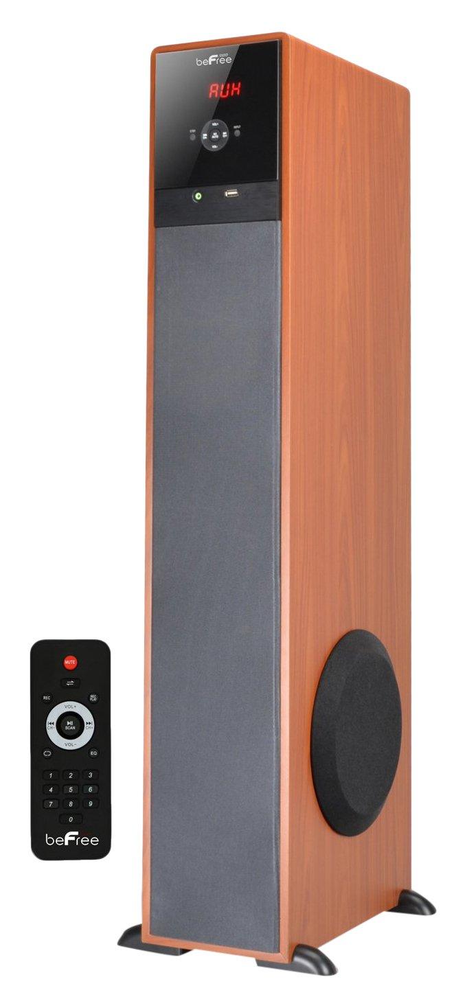 BEFREE SOUND BFS-TW91BT Bluetooth Powered Tower Speaker