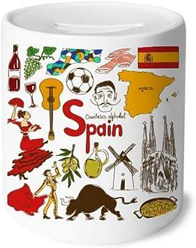 DIYthinker España Landscap Animales Bandera Nacional Caja de ...