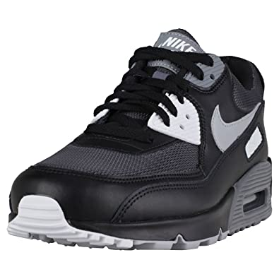 new arrival de644 a6c49 NIKE Air Max 90 Essential Men s Shoes Black Wolf Grey Dark Grey aj1285-