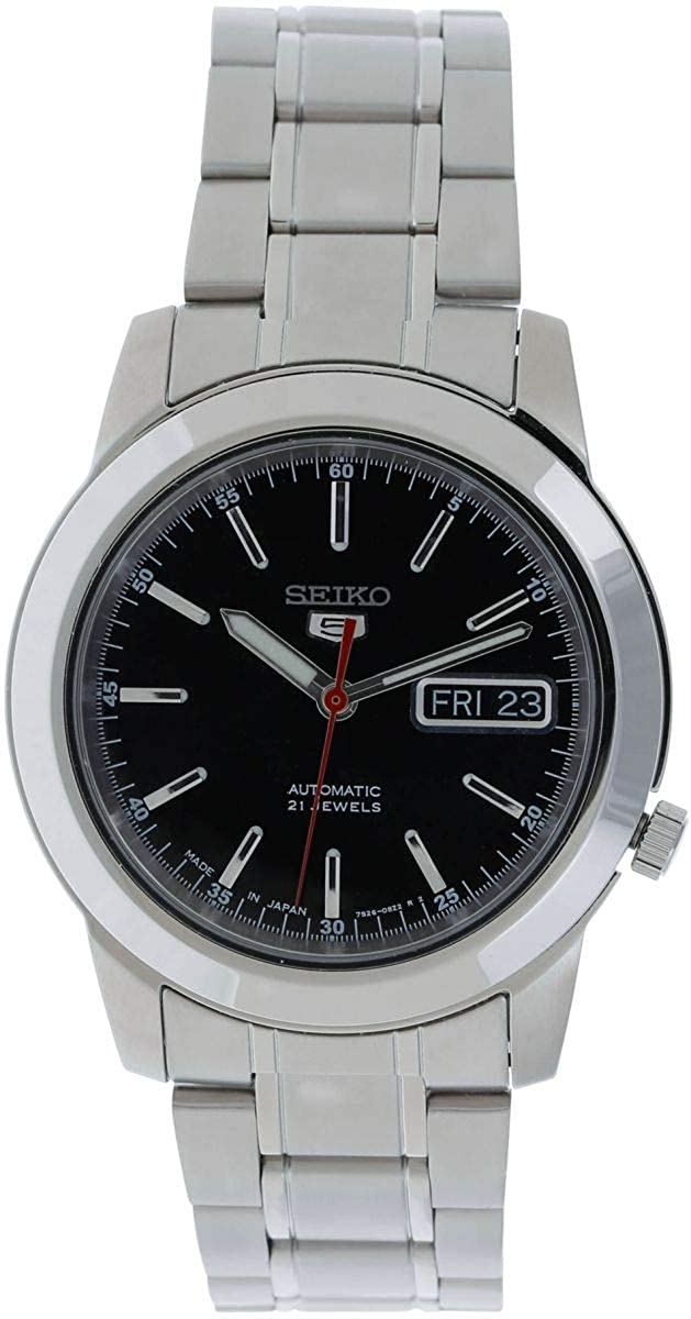 feca7845d0a Amazon.com  SEIKO 5 Automatic Watch Made in Japan SNKE53J1  Watches