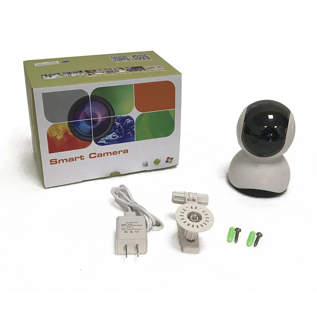 DongAshley Cámara De Vídeo De Seguridad De Internet,Control Remoto Cámara IP De Vigilancia,Alarma Inalámbrica & Lente Infrarroja & Control Remoto: ...
