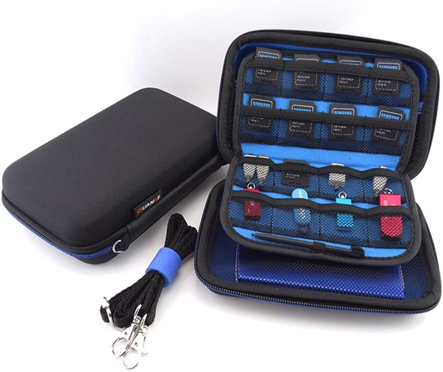 Homeself Waterproof Hard Travel Carrying Game Case Bag Cover With Carry Strap for New 3DS XL/ 3DS XL/3DS LL / NEW 3DS/ 3DS