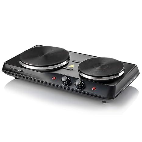 Amazon.com: Ovente - Quemador eléctrico doble de hierro ...