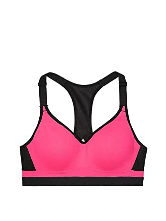 41ccb55fe653 Amazon.com: Victoria's Secret Sport Incredible Sports Bra Max Support VSX  (34 Band) (DDD, Hot Pink, 34): Clothing