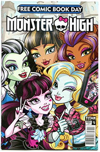 MONSTER HIGH #0, NM, FCBD, Mad Science Fair, 2017, more Promo/items in store