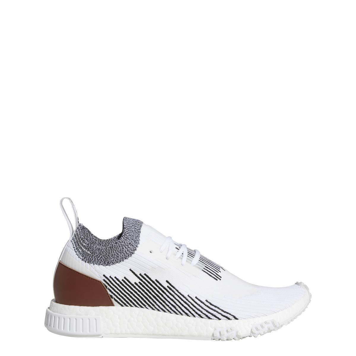 Footwear White   Core Black-redwood Adidas Mens NMD_Racer White Black Redwood - AC8233