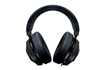 Razer Kraken 7.1 V2 Gunmetal - RGB Gaming Headset (mit Surround Sound in Gunmetal Design Einziehbares Mikrofon für PC, Robust