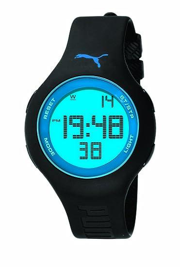 PUMA PU910801008 - Reloj digital unisex, correa de plástico color negro: Amazon.es: Relojes