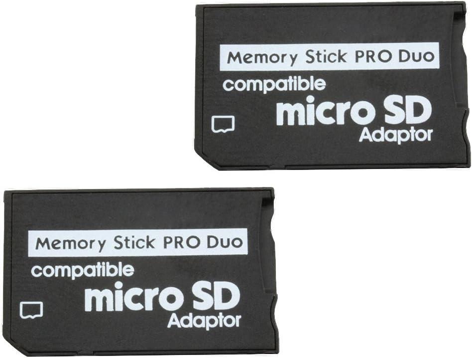 Com Four 2x Micro Sdhc Zu Ms Pro Duo Adapter Elektronik