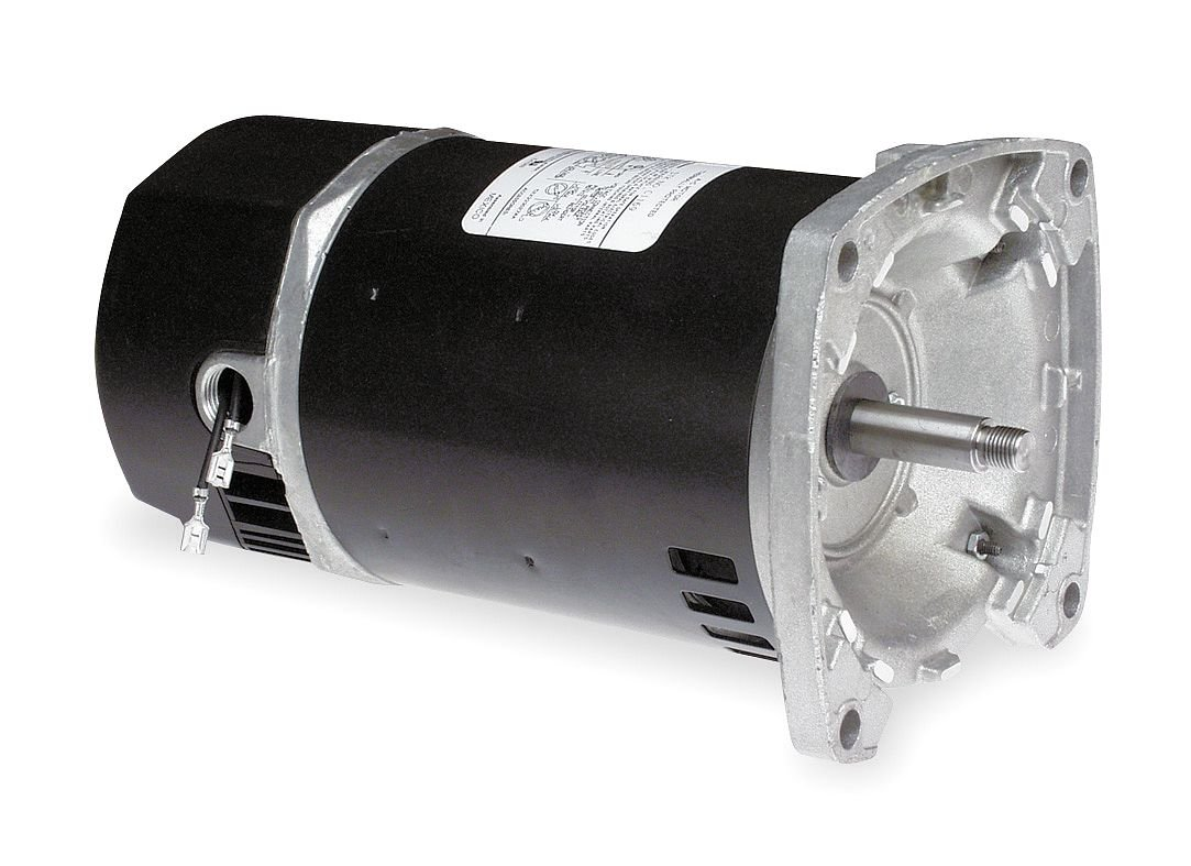 NEW 2 HP 3450 RPM 115//230 VOLT SINGLE PHASE SQUARE FLANGE POOL PUMP MOTOR 56Y