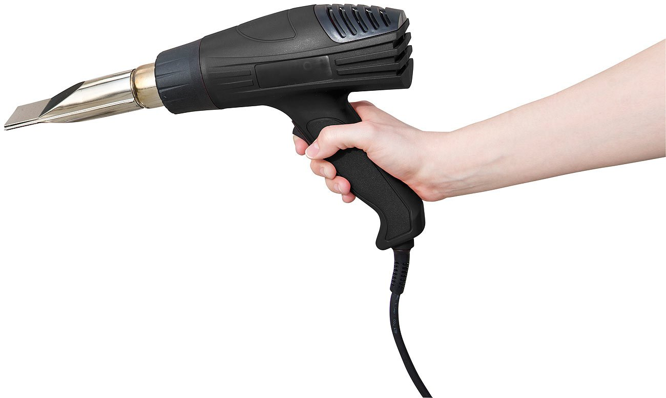 Elektrischer Grillanz/ünder bis 1.800 Watt AGT Grillf/öhn Grillanz/ünder-Hei/ßluftpistole mit 2 Gebl/äsestufen