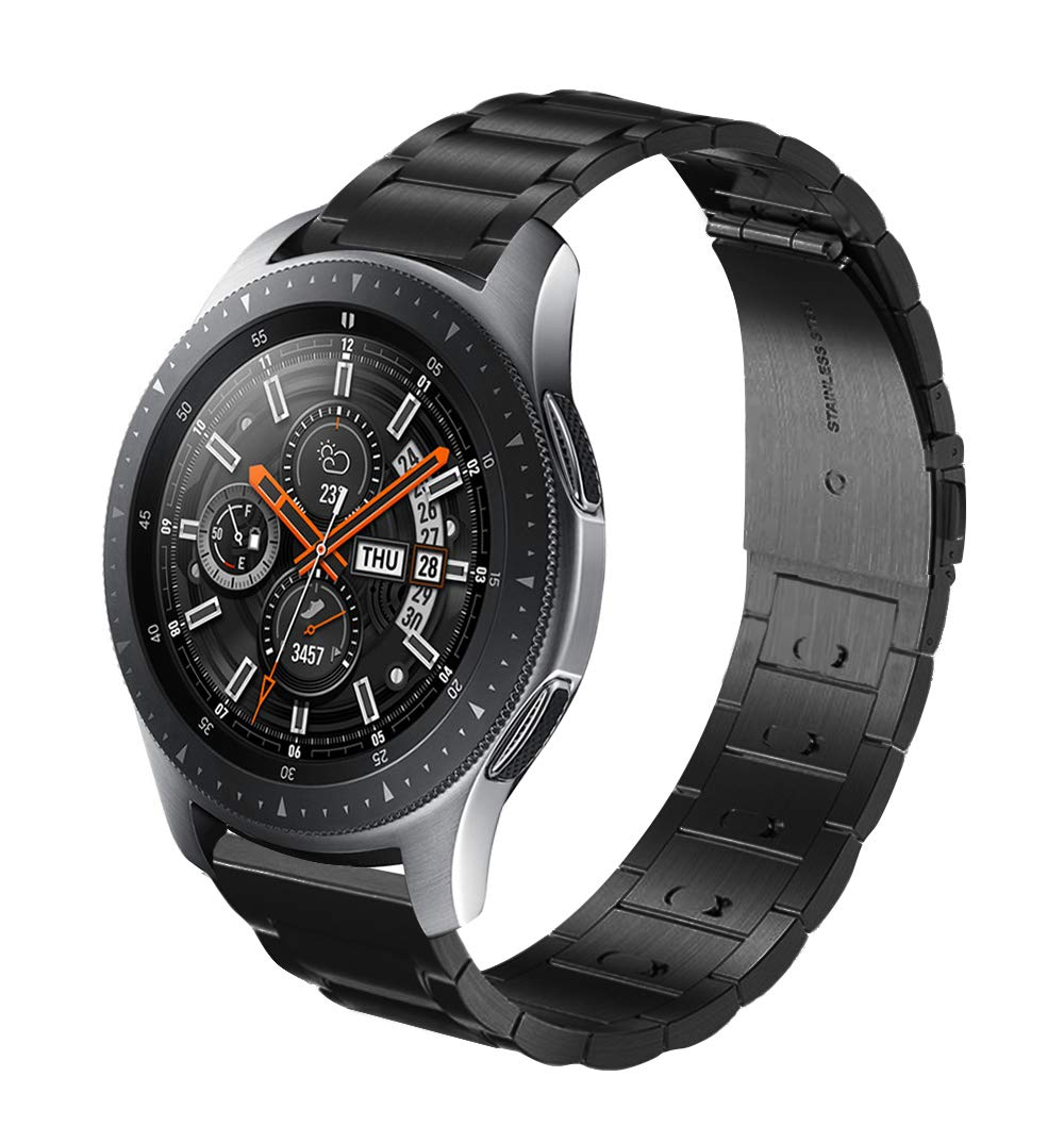 Cell Phones & Accessories United Luxury Stainless Steel Strap Band 22mm For Samsung Galaxy Watch Sm-r800 46mm Us Buy Now Smart Watches