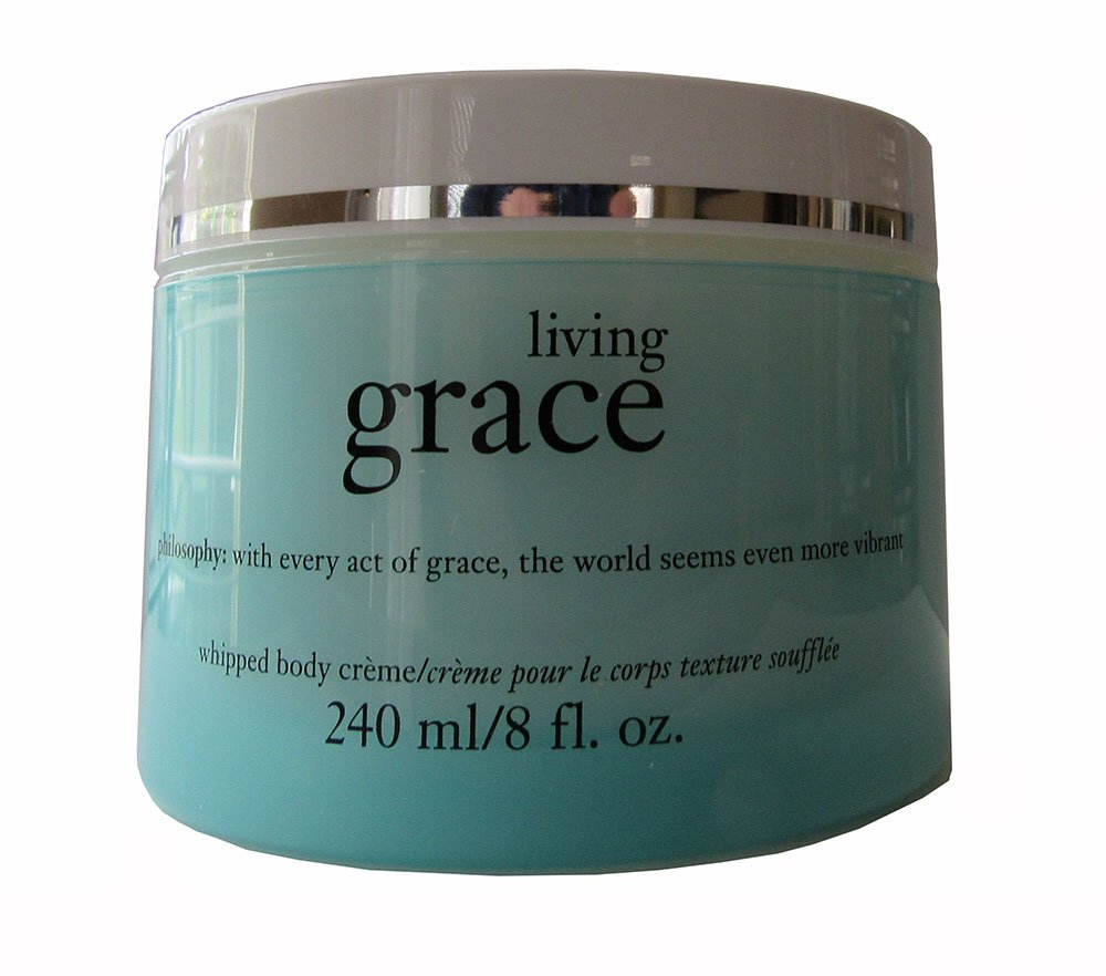 Philosophy Living Grace Whipped Body Creme-8 oz
