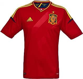 adidas Camiseta España -Junior-2012-1ª equipación: Amazon.es ...