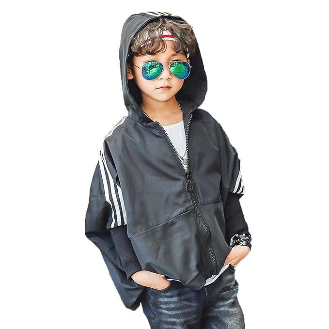 Niño Ropa Abrigo Chaqueta Chico Vestidos Outwear Casual Corto Rompevientos Otoño Ocio Exterior Mangas de Mrciélago Tops Chica ZYS, 150cm: Amazon.es: Ropa y ...