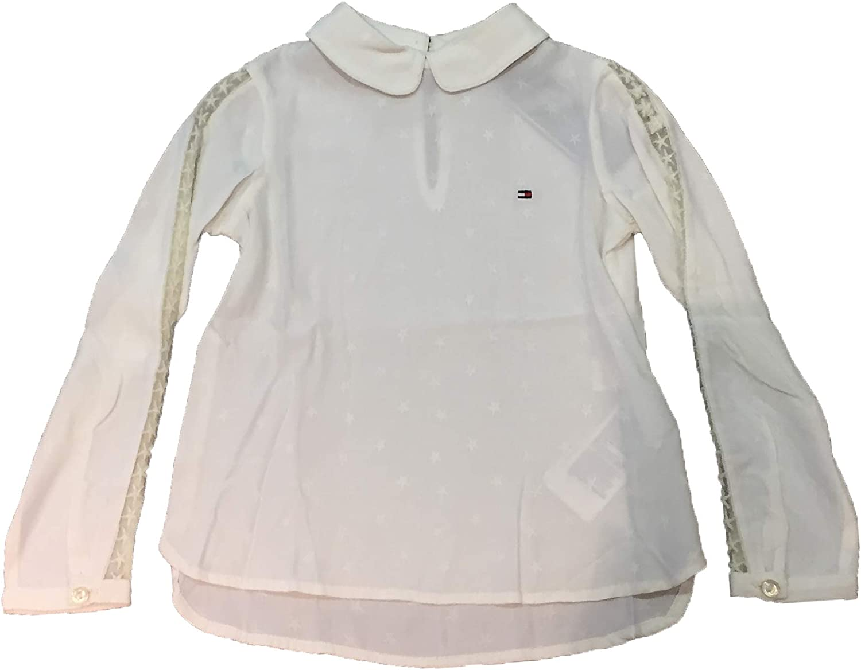 Tommy Hilfiger - Camisa Blanca Manga Larga: Amazon.es: Ropa