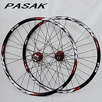 Celtics 26/27.5/29 MTB - Bicicleta de montaña CNC hueca delantera 2 traseras 4 rodamientos sellados Hub 26 ruedas de disco: Amazon.es: Deportes y aire libre