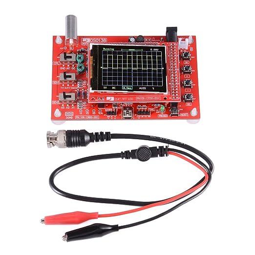 """4 opinioni per XCSOURCE completamente montato DSO138 2.4 """"Kit oscilloscopio digitale TFT"""