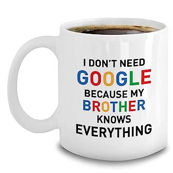 Amazon Funny Brother Mug