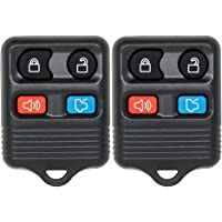Keyless2Go Replacement for Keyless Entry Remote Car Key Fob Vehicles That Use CWTWB1U331, Self-Programming - 2 Pack