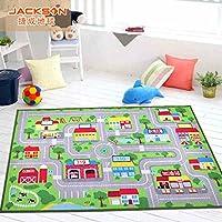 Jackson 40x60 Kid Rug Car Trafic Rug Play Mat, Play Rug