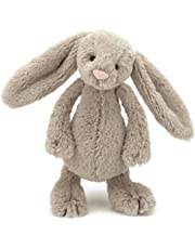 Jellycat Bashful Beige Bunny, Small, 7 inches
