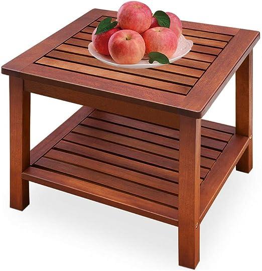 shougui trade Table de Jardin Petite Table en Bois de ...