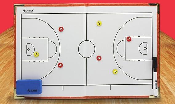 Deportivo entrenador sandbox juego Baloncesto táctica carpeta ...